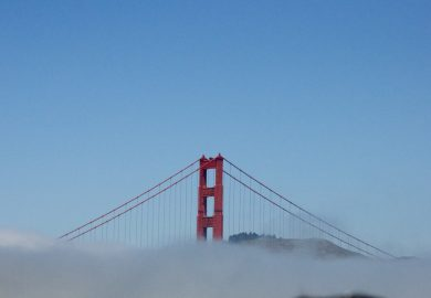 São Francisco, paz e amor.