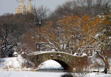 Nova York, neve e jazz