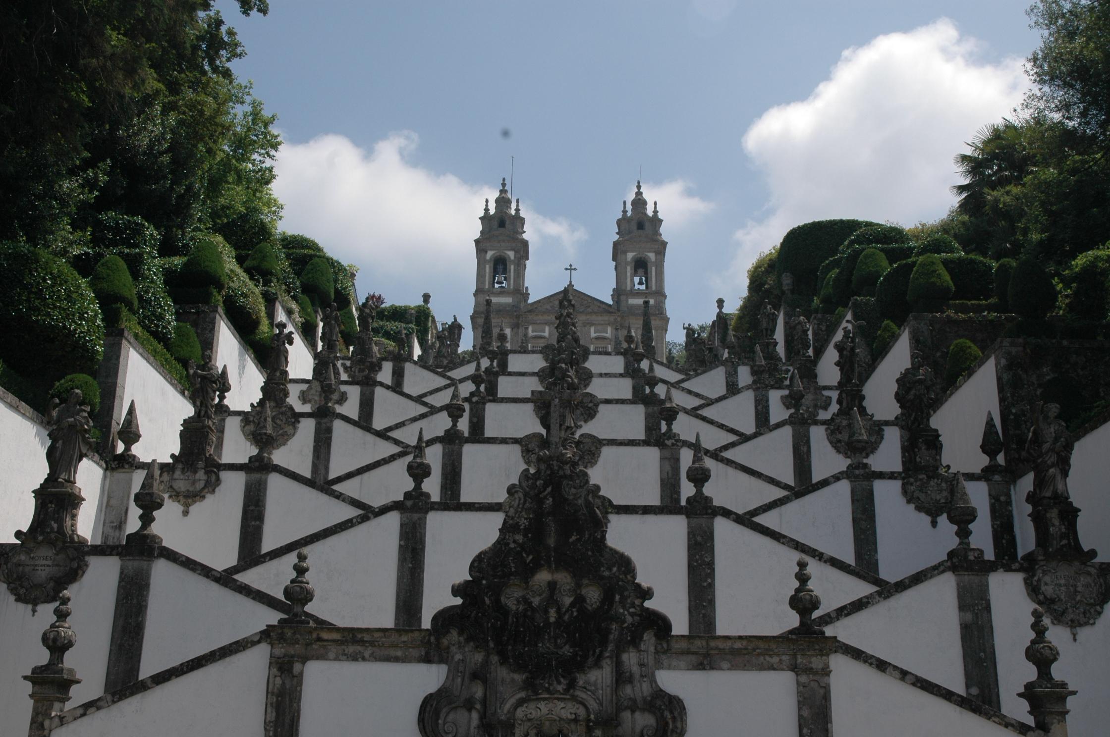 Braga, a escadaria de Bom Jesus