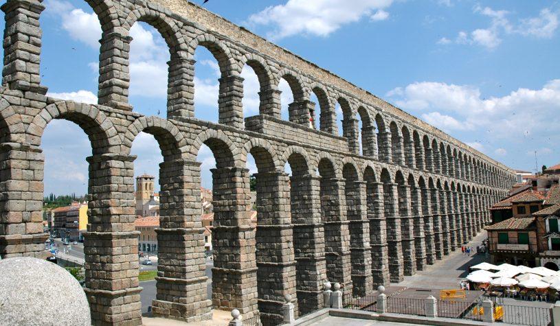O Aqueduto de Segóvia, uma maravilha do Império Romano