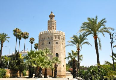 Sevilha, a capital da Andaluzia