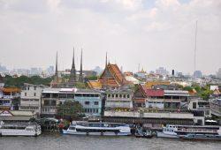 Chegando a Bangkok