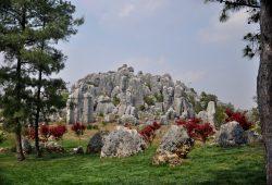 A Floresta de Pedras de Kunming