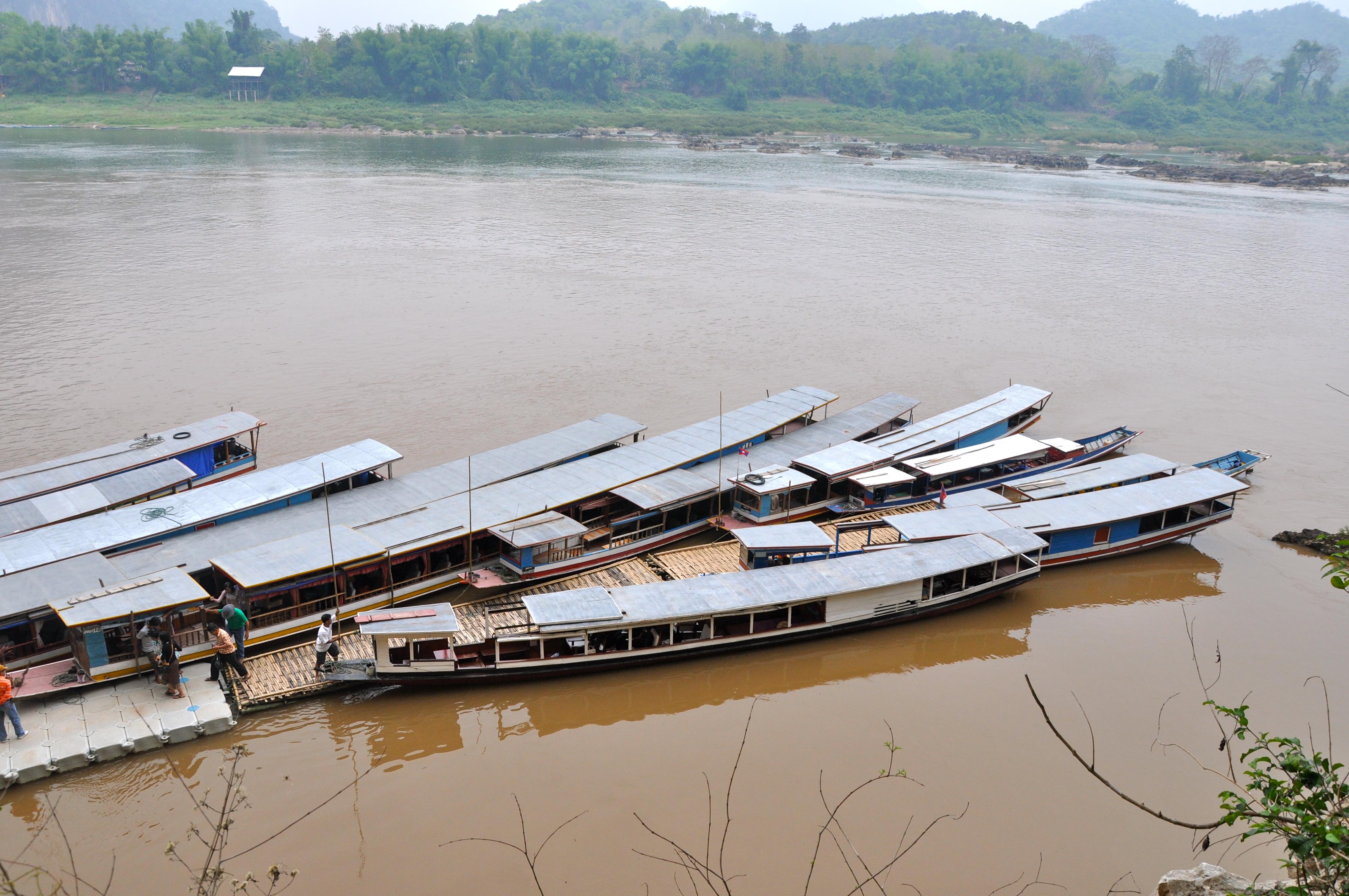 Subindo o Rio Mekong