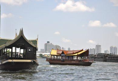 Bangkok, a melhor visão é do Chao Phraya