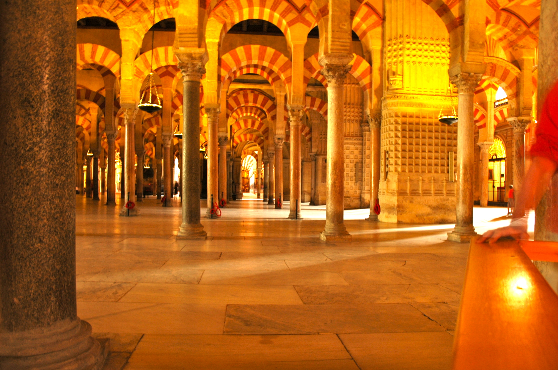 A grande mesquita de Córdoba
