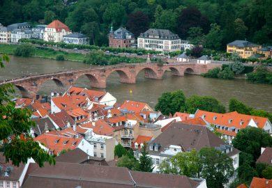 Heildelberg, uma das cidades mais românticas da Alemanha