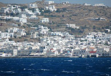 As ilhas gregas e a Guerra de Tróia