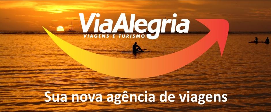 Via Alegria, uma nova Agência de Viagens e Turismo