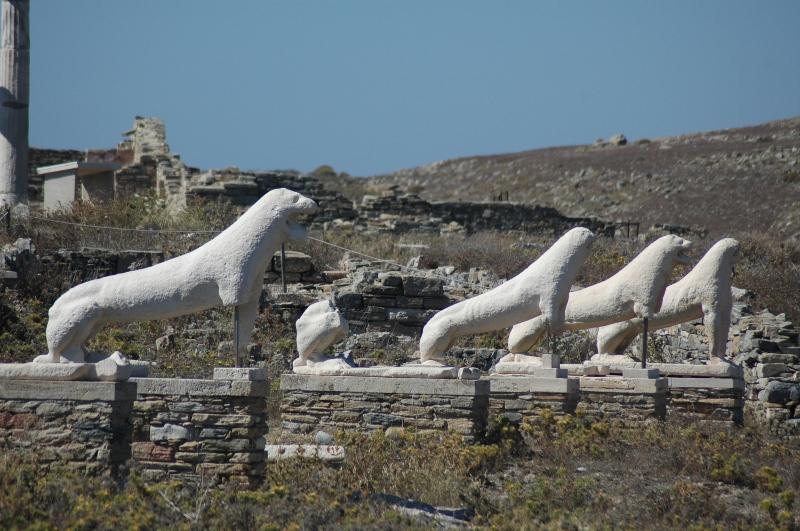 A Ilha de Delos e o Santuário de Apolo