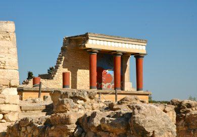 A Ilha de Creta e o Palácio de Knossos