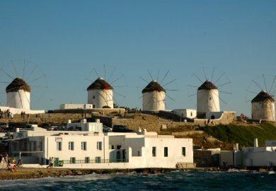 Mykonos, a mais animada das Ilhas Gregas