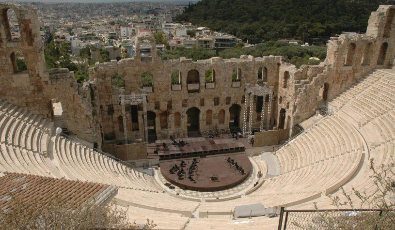 A Acrópole de Atenas e o Partenon