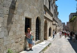 O Colosso de Rodes e a Rua dos Cavaleiros