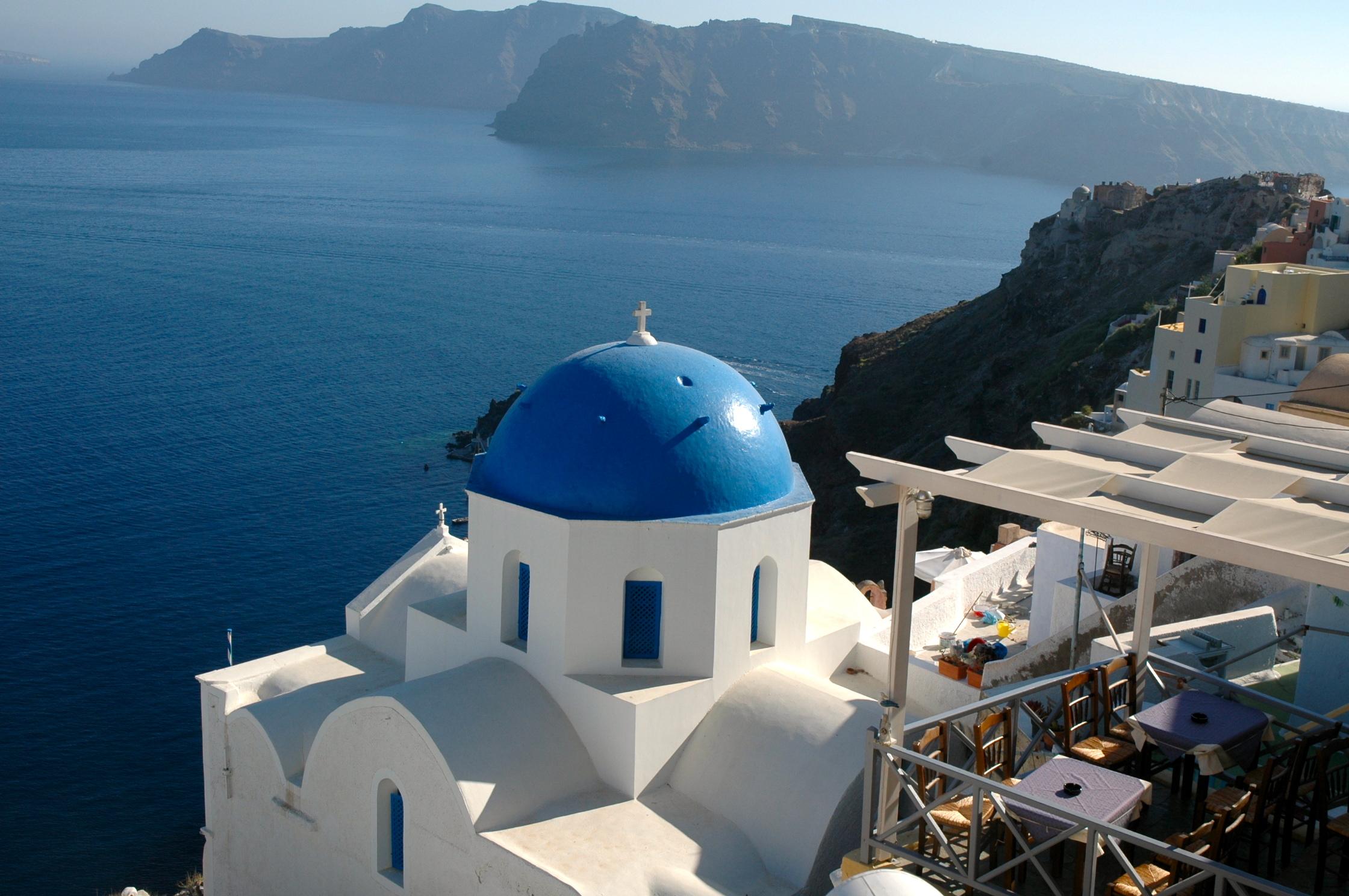 Santorini, a mais charmosa das Ilhas Gregas