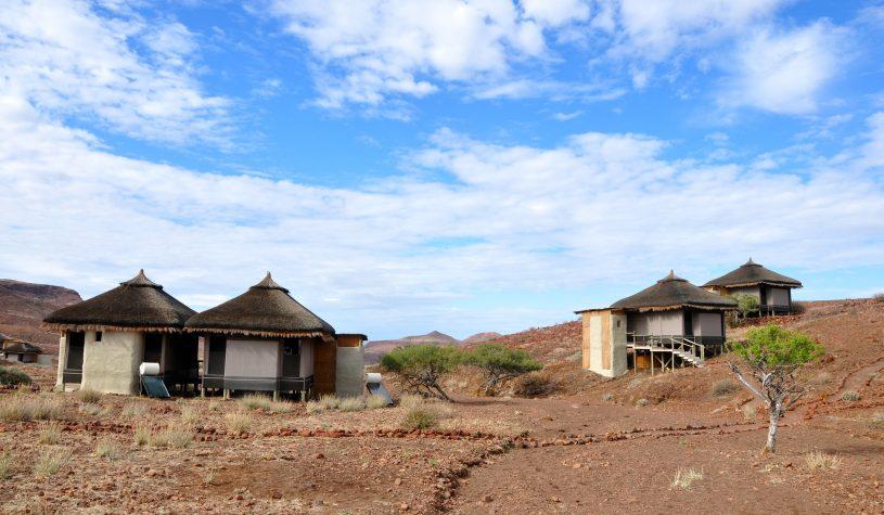 Chegando a Damaraland na Namíbia