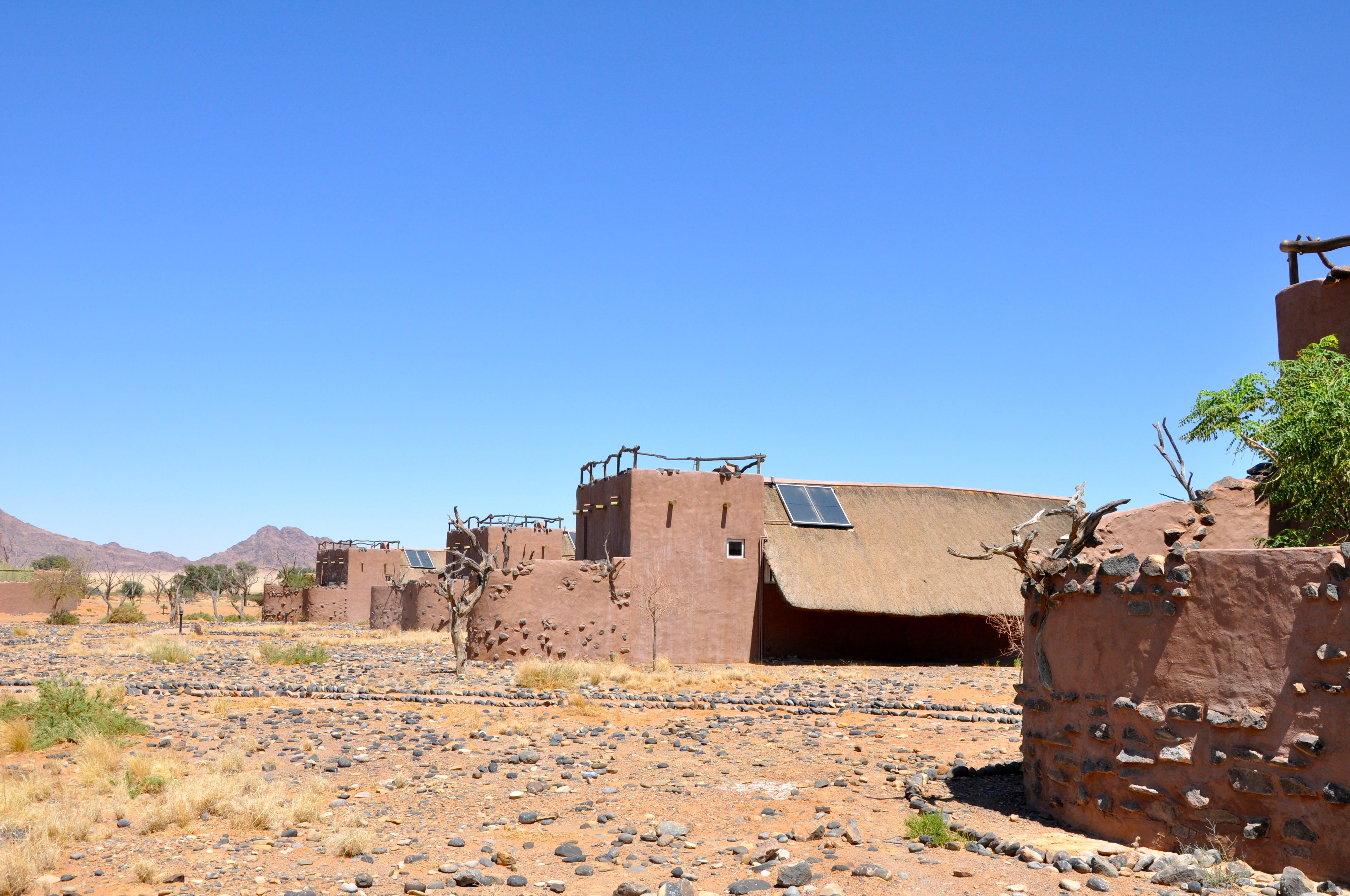 Little Kulala, o primeiro acampamento da Namíbia