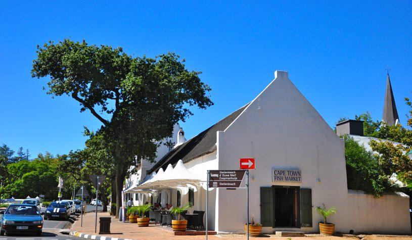 Stellenbosch e os vinhos da África do Sul