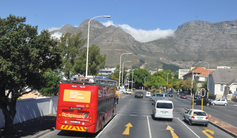 Um passeio panorâmico pela Cidade do Cabo