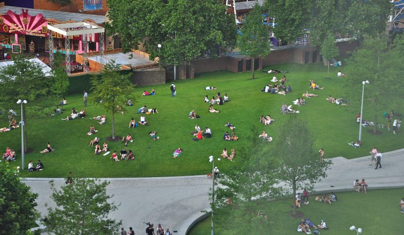 Londres – O parque é da cidade e do cidadão