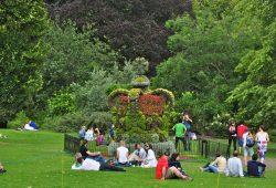 Os parques de Londres e o Palácio de Buckingham