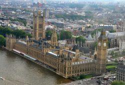 O Big Ben e a Abadia de Westminster