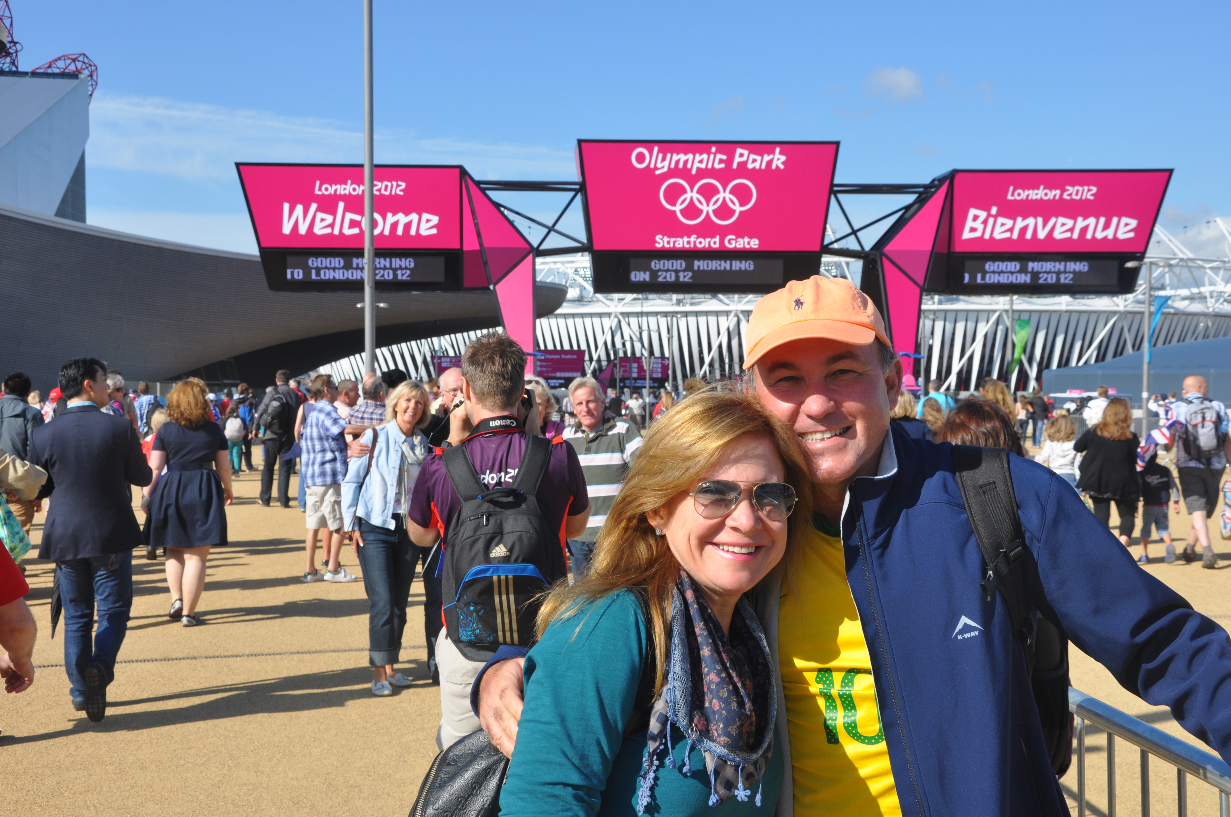 As Olimpíadas de Londres 2012