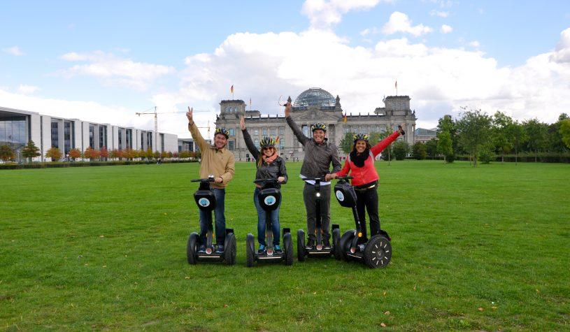 De segway, uma forma divertida para conhecer Berlim