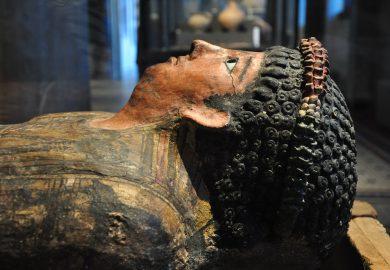 O emocionante encontro com a Nefertite