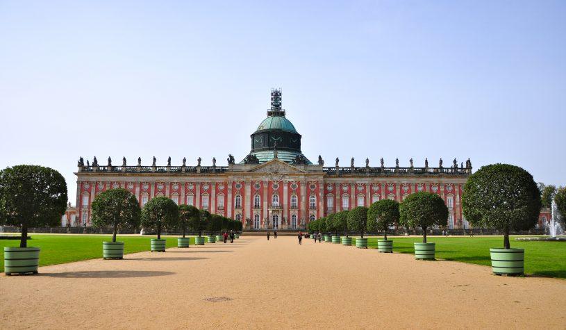Os jardins e palácios de Potsdam