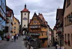 Rotemburgo Ob Der Tauber, a cidade medieval da Baviera