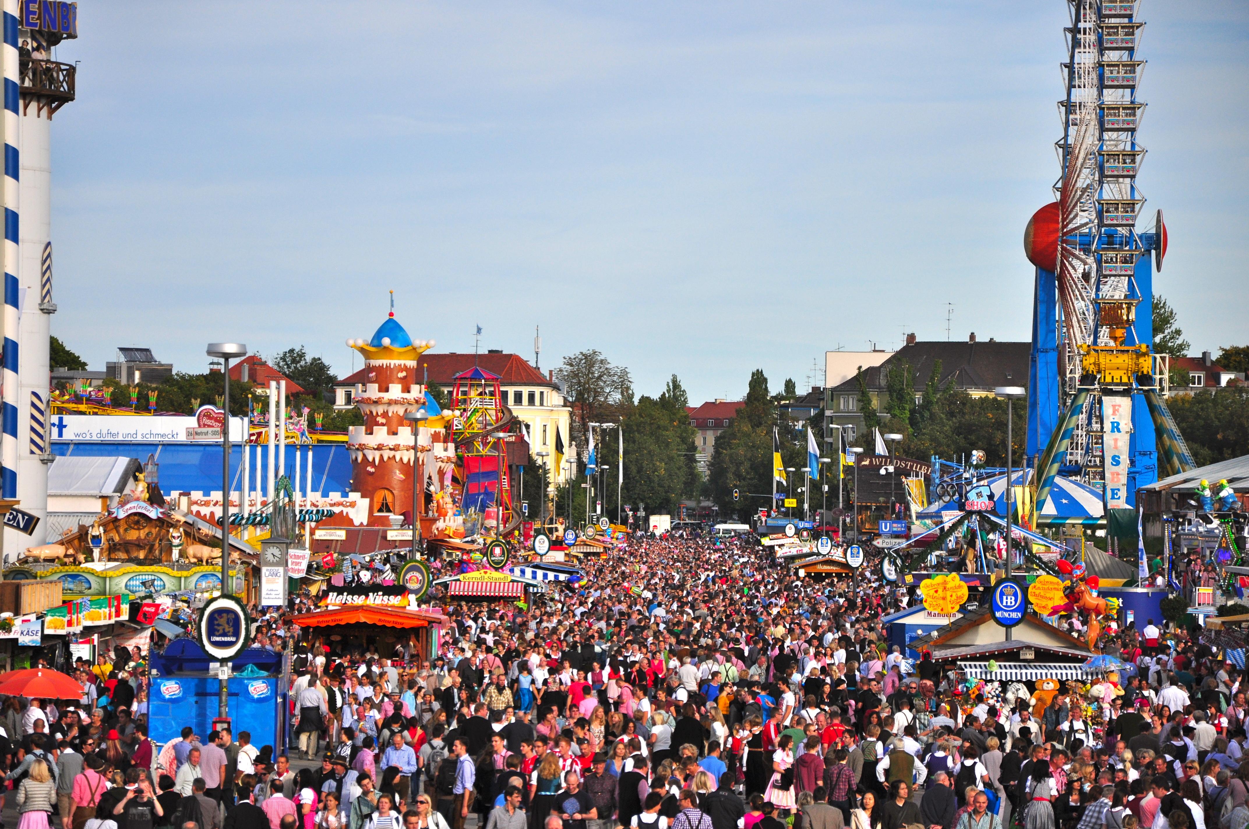 Oktoberfest, a festa da cerveja de Munique