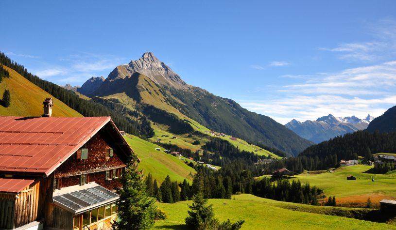 Atravessando a Áustria pela região do Tirol