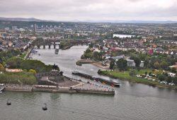 Koblenz, a esquina da Alemanha