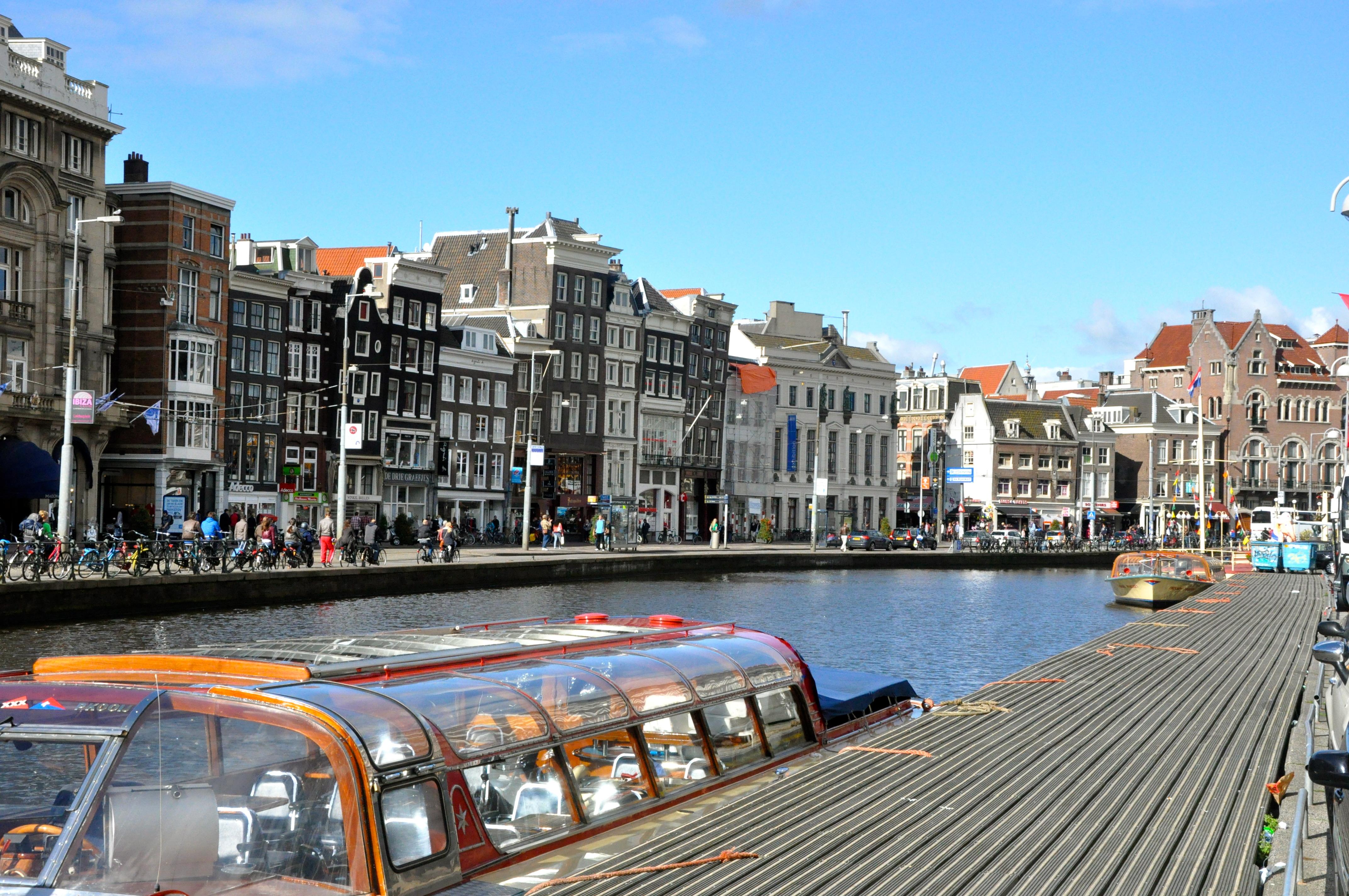 "Amsterdam, a ""Veneza"" do Norte"
