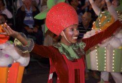 O grande desfile de Natal em Gramado