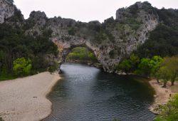 Entrando da Provença pela Garganta do Ardèche