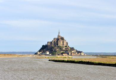 O espetacular Monte Saint-Michel