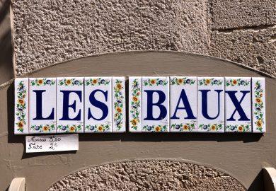 Les Baux-De-Provence, no Vale do Inferno