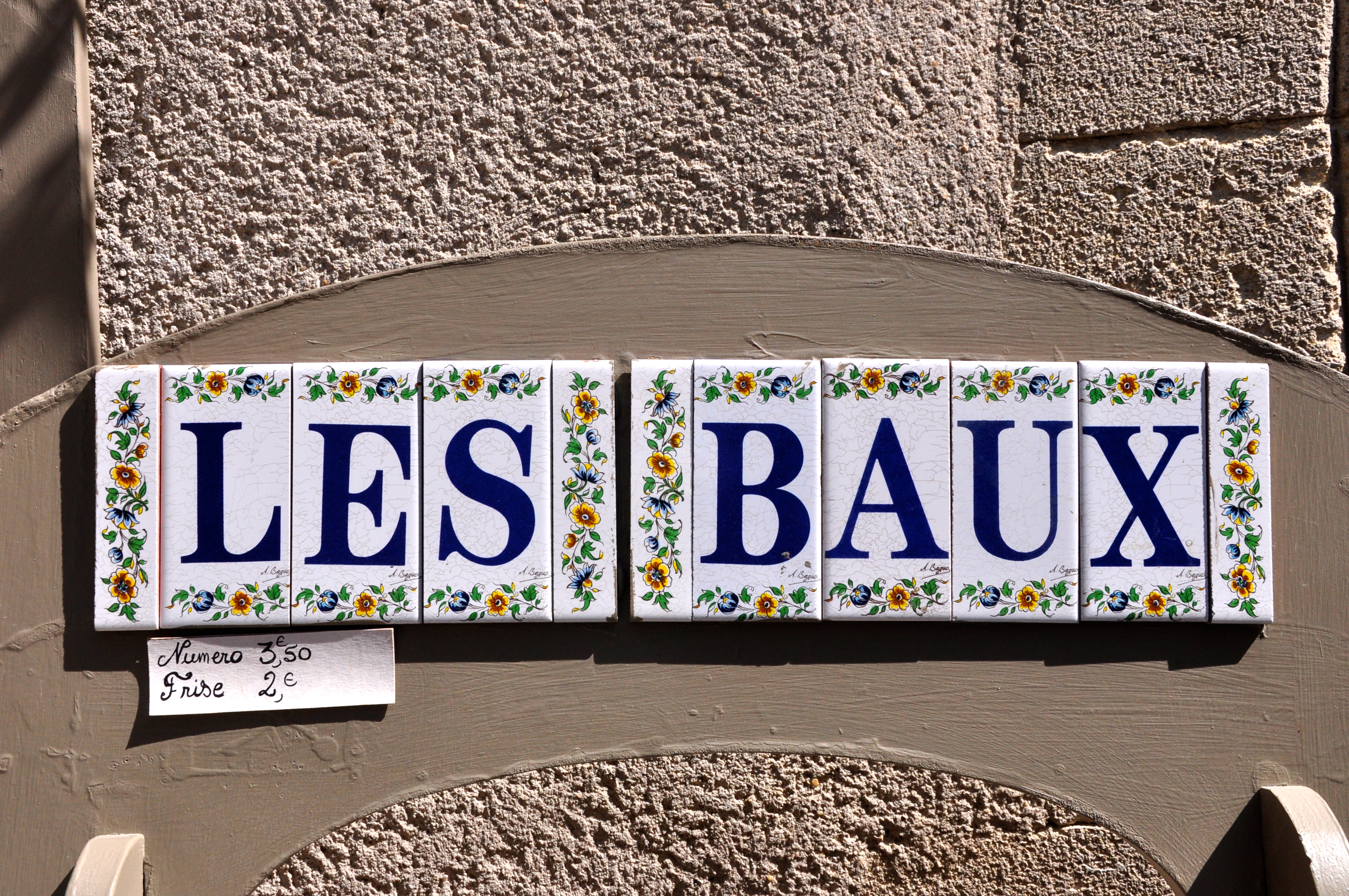 Les Baux-De-Provence, no Vale do Inferno