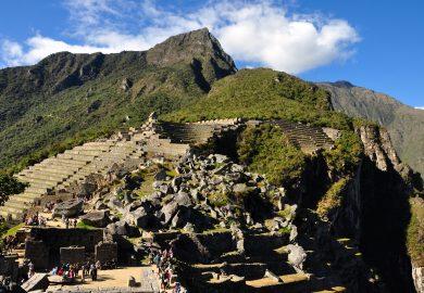 Águas Calientes, o povoado de Machu Picchu