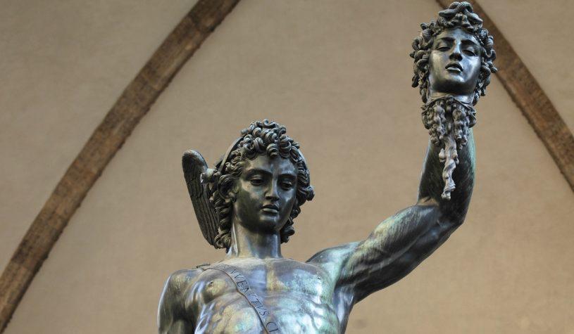 A Praça Della Signoria em Florença, um museu a céu aberto
