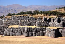A Fortaleza Sacsayhuamán em Cusco