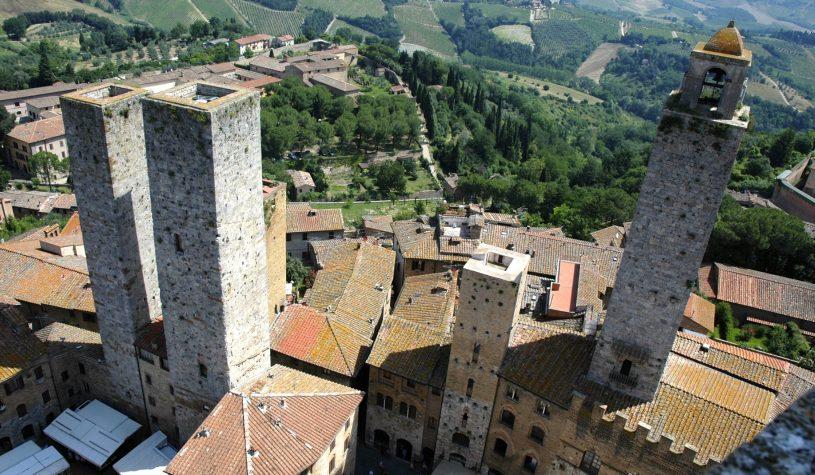 San Gimignana, uma volta à Idade Média