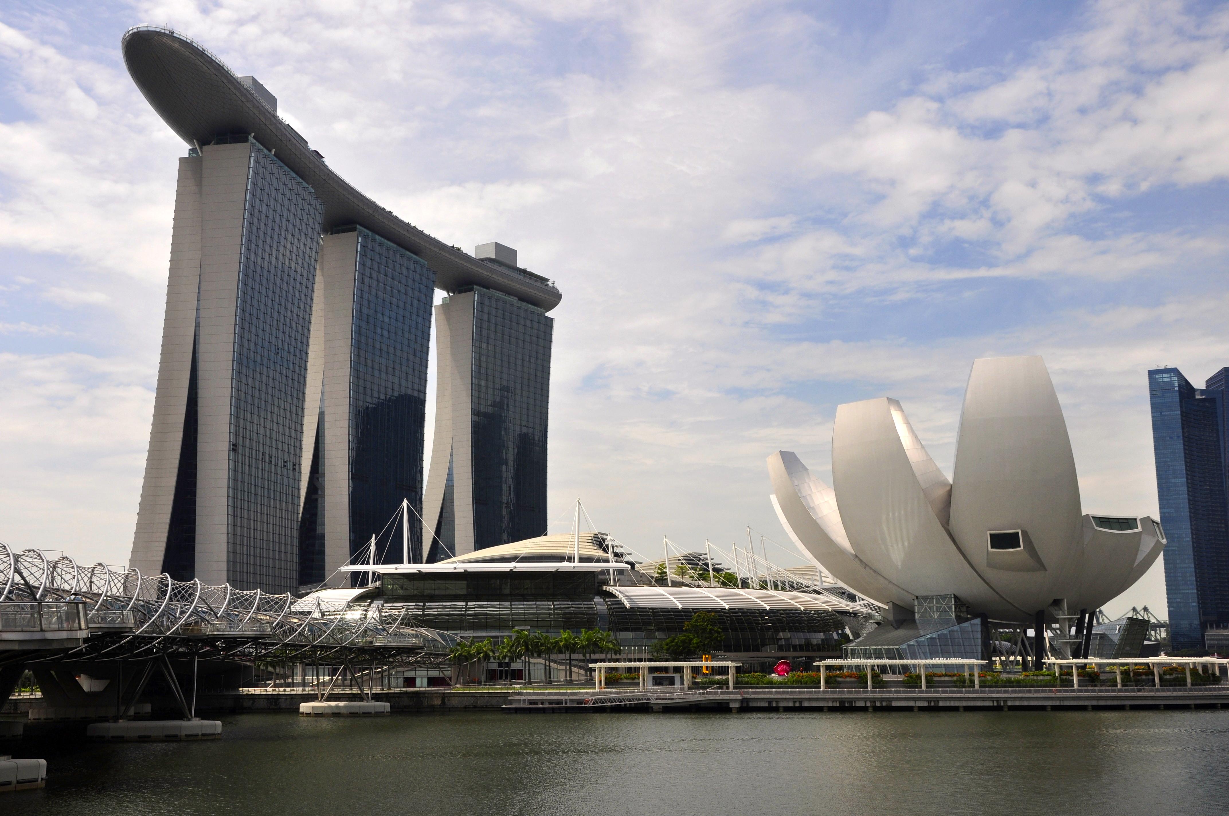 Marina Bay Sands, o símbolo maior de Singapura
