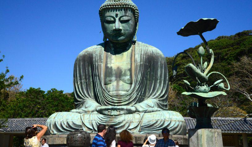 """O Buda """"Molhado"""" de Kamakura"""