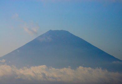 O imponente Monte Fuji