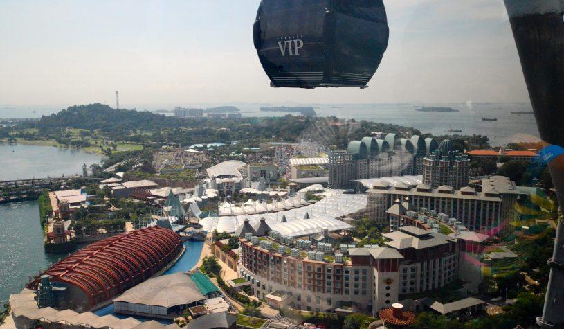 Sentosa, uma ilha de fantasias em Singapura