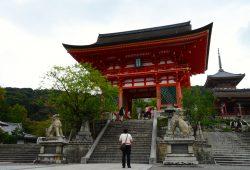 Os mais importantes templos de Quioto