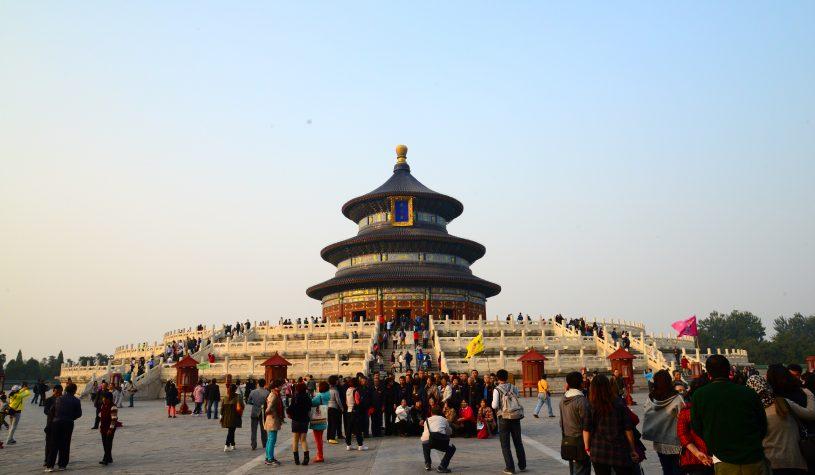 O Templo do Céu em Pequim